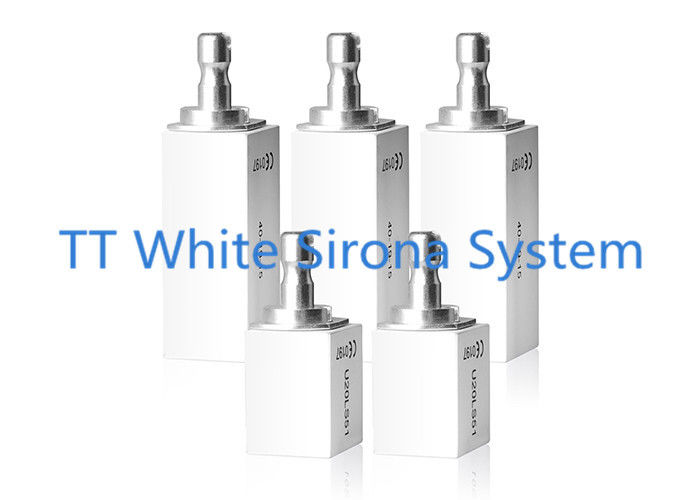 Sirona System Pre Sintered Zirconia TT White For Zirconium Dental Crowns