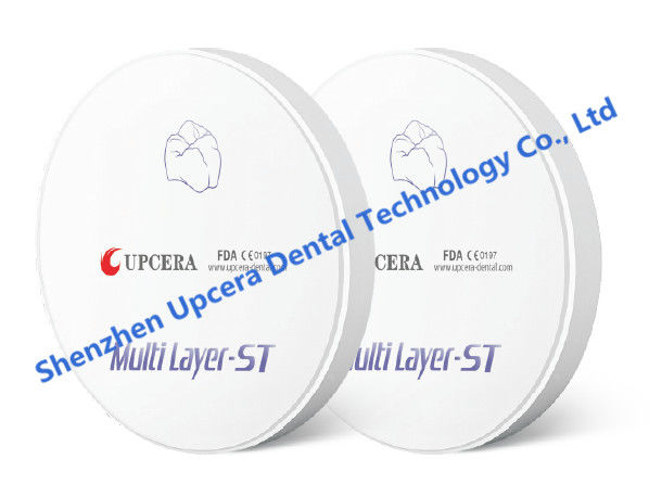 Zirconia Pre-color Discs Zirconium Uses In Dentistry CAD/CAM System 98*16mm